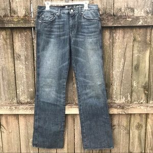 [7 FOR ALL MANKIND] DENIM BOOTCUT SIZE 32